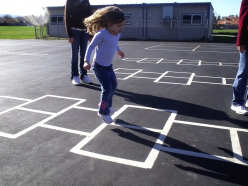 Hopscotch for kids