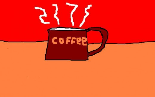 Coffee - the beverage of the cattle drive.