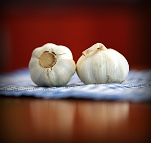 Garlic Will Clear the Congestion in the Lungs