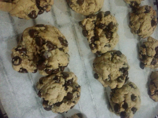 This recipe yields thick, soft, and chewy chocolate chip cookies that you would surely love.