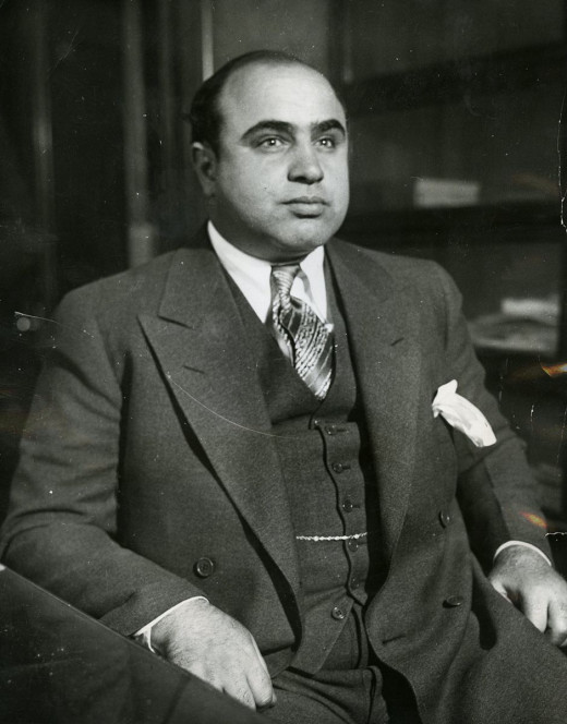 Chicago gangster Al Capone