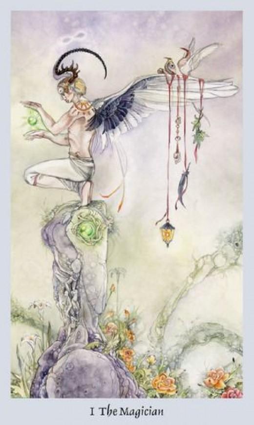 Maiden of Mystery Shadowscape Tarot