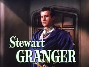 The dashing Stewart Granger in 'Young Bess'