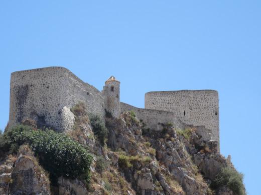 The Arabian Castle in Olvera, Spain