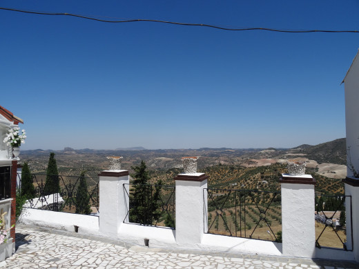 Olvera. View from the Necropolis