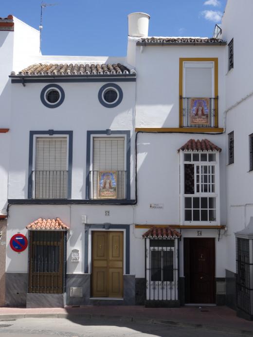 House on a corner street