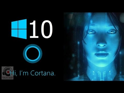 Cortana, your digital assistant. She is to Windows 10 what Siri is to the iPhone.