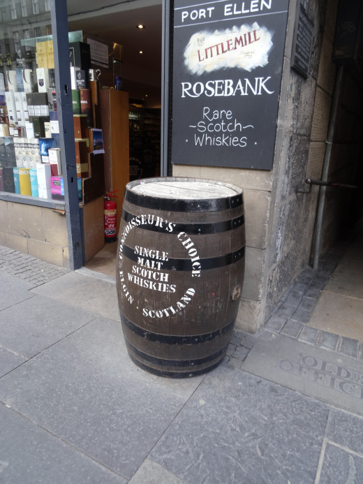And, of course, there's Scotch in the barrel for the buying!