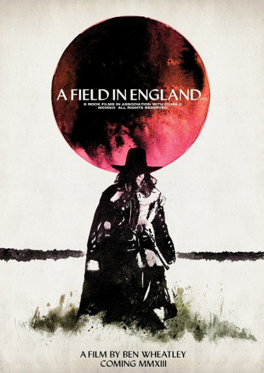 "Promotional poster for ""A Field In England"""