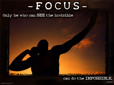 """Only he who can see the invisible can do the impossible."""