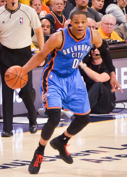 Russell Westbrook had an MVP caliber season, but still couldn't make the playoffs.