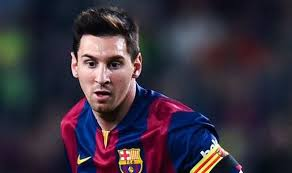 Its Messi...