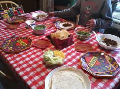 Mexican Themed Dinner Plans