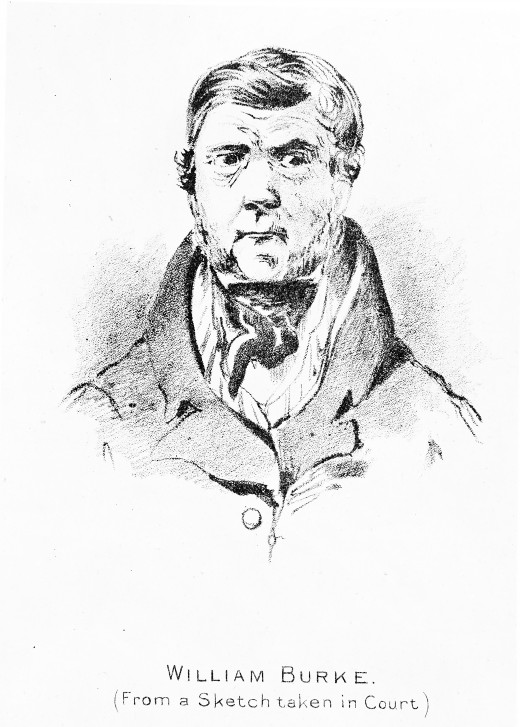 William Burke, from a sketch taken at his trial