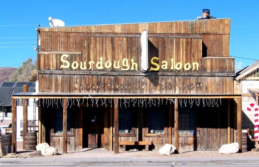 Sourdough is for making bread. Not to be confused with the Sourdough Saloon, which is for drinking