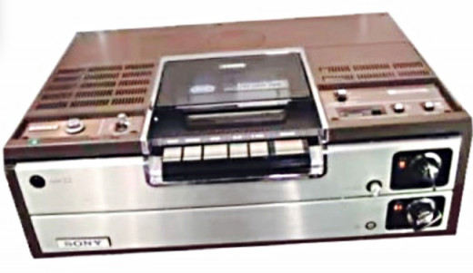 The first Sony Betamax gave me happy memories and put me in my happy place.