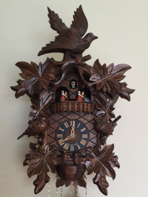 My Cuckoo Clock that I purchased from the Black Forest of Germany