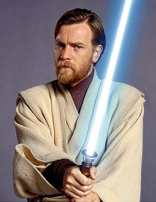 Obi-Wan Kenobi portrayed by Ewan McGregor