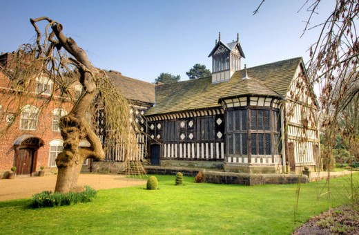 Rufford Old Hall, England. A very haunted place.
