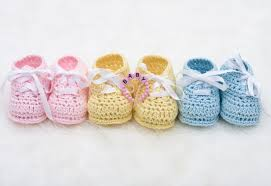 Booties and socks are all you need for your baby until it gets to about 7 months