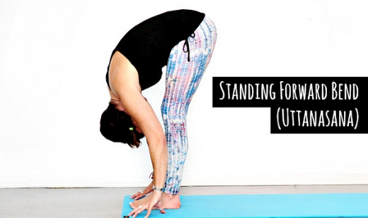 Standing Forward Bend (Uttanasana) an excellent pose to increase height - CareShare