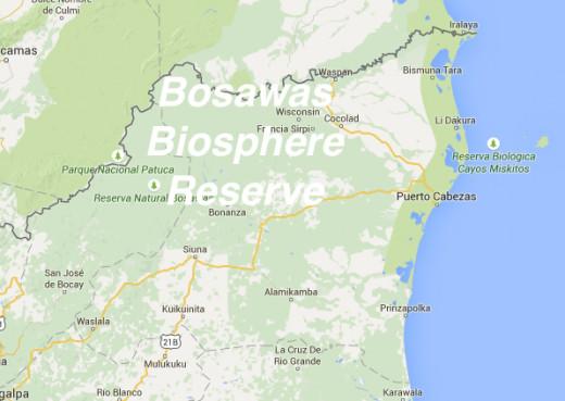 The Bosawas Biosphere Reserve, Nicaragua