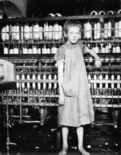 ADDIE CARD, 12-YEARS OLD; SPINNER IN NORTH POMAL COTTON MILL, VT - HINE