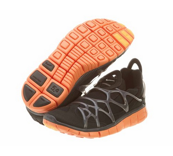 Nike Air Kukini free style running shoes without laces.