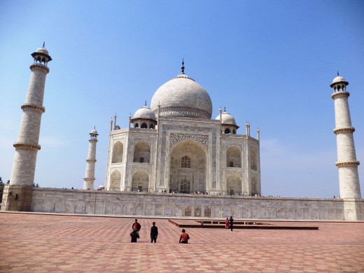 The Magnificent Taj Mahal, Agra