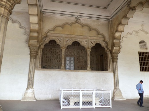Diwan-i-am Or Hall Of Audience, Red Fort, Agra