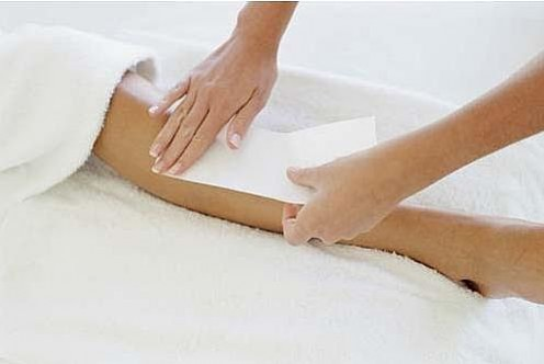 Hair waxing - can be used as a hair removal method almsot anywhere on the body.
