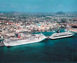 Cruise Port Destinations Oranjestad:  Aruba, Willemstad: Curacao and La Romana: Dominican Republic