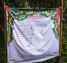 Rainbow Gathering rules and suggestions.