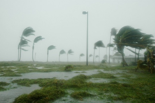 Hurricane Dennis at Key West, Florida.
