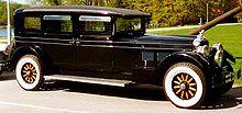 1927 Stutz Vertical Eight AA Limousine