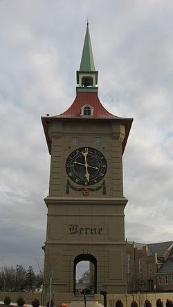 Clock Tower in Berne