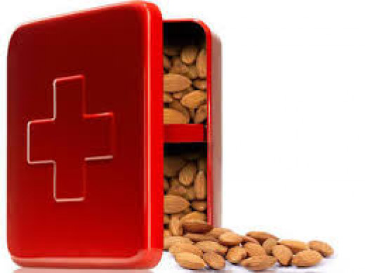 Almonds appear to not only decrease after-meal rises in blood sugar, but also provide antioxidants to mop up free radicals.