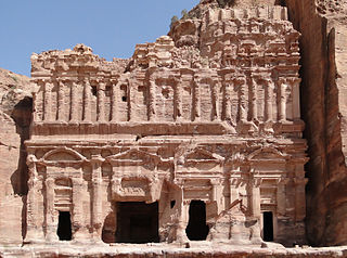 The Palace Tomb in Petra