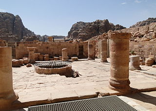 The Ruins of Byzantine Church, Petra