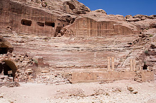 Roman Theater in Petra
