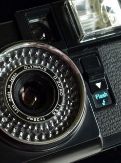 Olympus Pen EF, A Half-Frame Film Camera