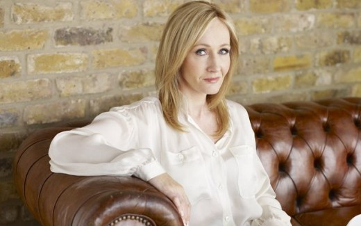 J. K. Rowling, the author of the Harry Potter series.