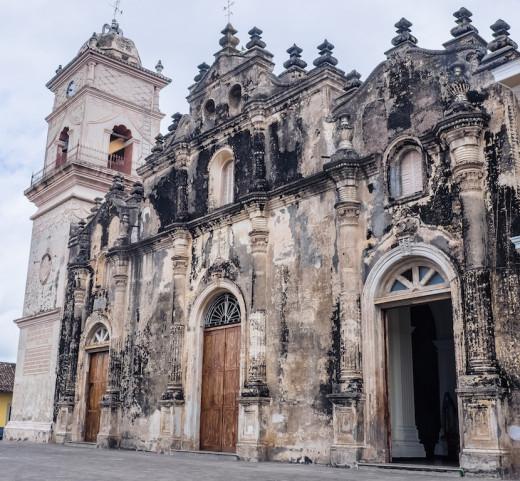 Iglesia La Merced, Granada, Nicaragua