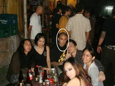 Ivler is pictured drinking with friends. QC jail is allegedly lax in imposing discipline.