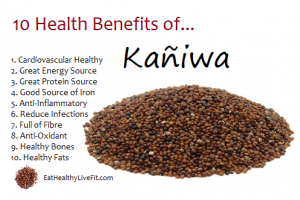 This article lists 10 benefits of eating kaniwa. Click on picture to see it more clearly or click on the link to where the article comes from.