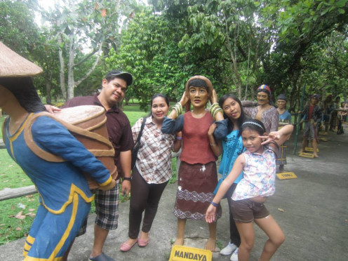 This photo was taken personally during our visit @ Philippine Eagle in Davao City, Philippines