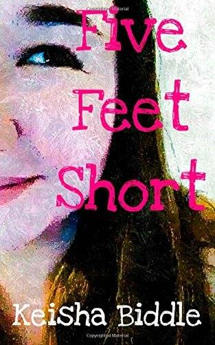 The cover of Five Feet Short, made by the author herself and used with her permission.