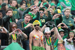 Rowdy Oregon fans are not afraid to defend their team loyalty with words or fists.