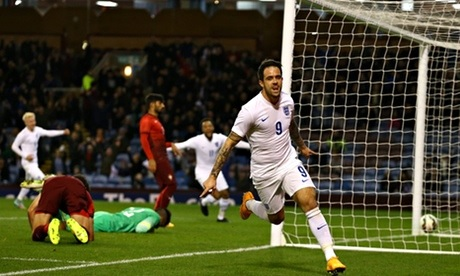 He was part of the England U-21 team at Euro 2015