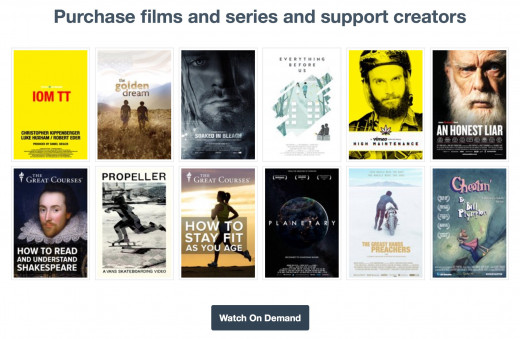 For fans: Vimeo also allows you to purchase films and shows for full and unlimited access. Plus, it's a great way to support the artists and works you love. More for them, more for you; it's a win-win.